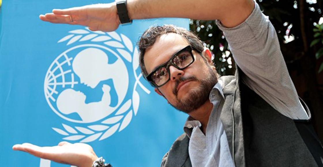 ¡Tsss! La UNICEF ya se pronunció en contra de los tweets de Aleks Syntek