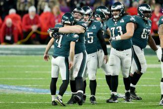 Eagles sabían que estaban muy cerca del triunfo / Getty Images