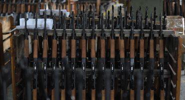 Nos llegan 213 mil armas al año desde Estados unidos