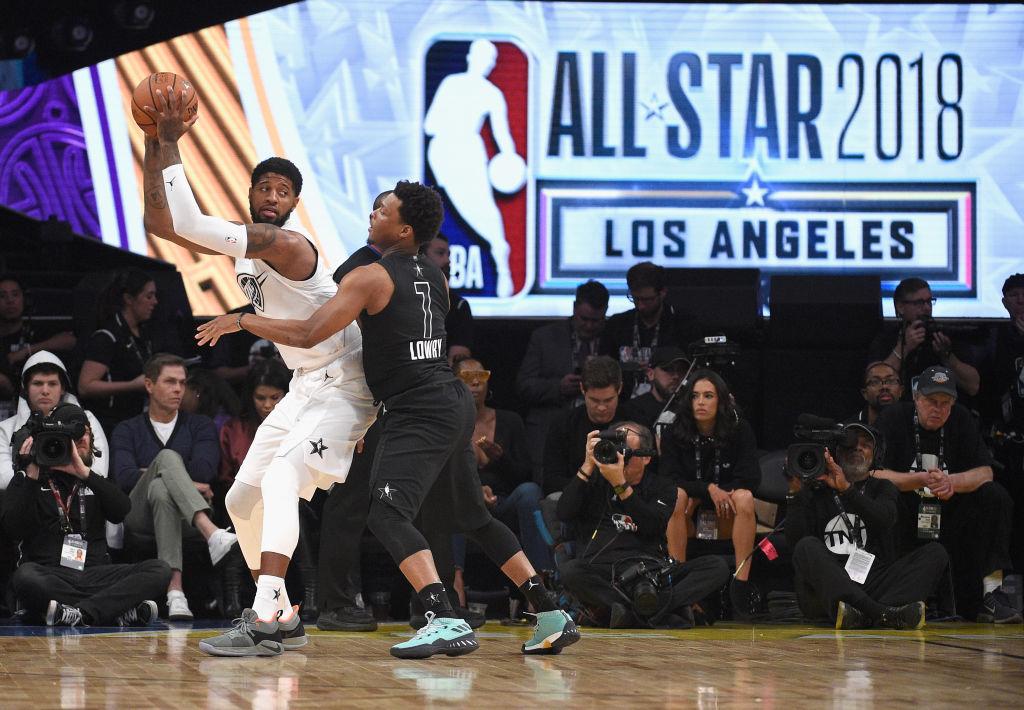 Aquí está toda la acción del NBA All-Star Game 2018 en Los Angeles