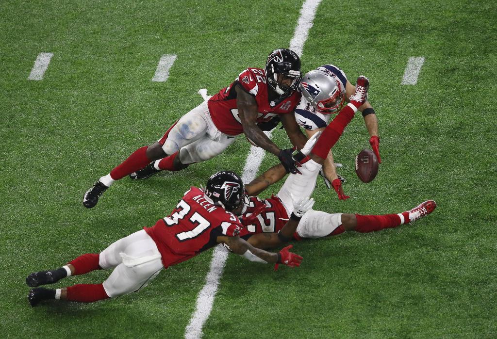 La atrapada de Edelman que mantuvo vivos a los Patriots en el Super Bowl LI