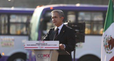 Funcionarán 120 autobuses a gas natural en los ejes 5 y 6 Sur de la CDMX