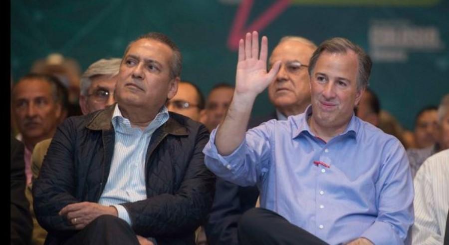 Manlio Fabio Beltrones y José Antonio Meade