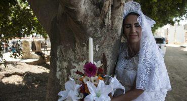 ¿Forever Alone? Celebran boda masiva con árboles en Oaxaca