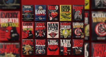 Un artista convierte canciones clásicas en portadas de libros de Stephen King