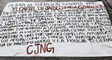 Y mientras Mancera defiende a Anaya... CJNG anuncia en Periférico: