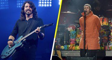 What? Los Foo Fighters quieren colaborar con Liam Gallagher