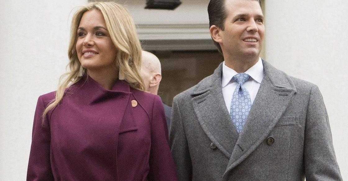 Hospitalizan a esposa de Donald Trump Jr. tras abrir un sobre con polvo blanco
