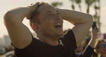 Este video capta las reacciones de Elon Musk durante el lanzamiento del Falcon Heavy