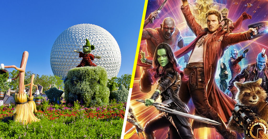 I am Groot! ¡La primer montaña rusa en EPCOT será de Guardians of the Galaxy!