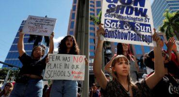 ¿Es en serio? A tres días del tiroteo en Parkland, Florida celebra una enorme feria de armas