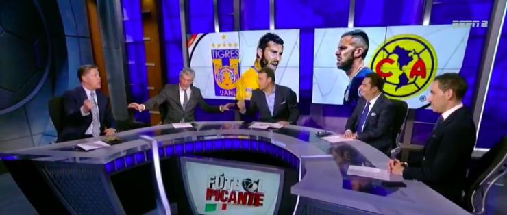 Faitelson y Peláez estuvieron cerca de llegar a los golpes, reveló un exconductor de ESPN