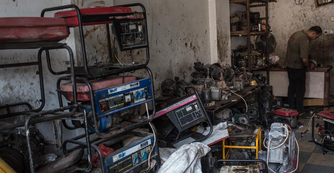 Solo hay combustible para 10 días más en la Franja de Gaza: ONU