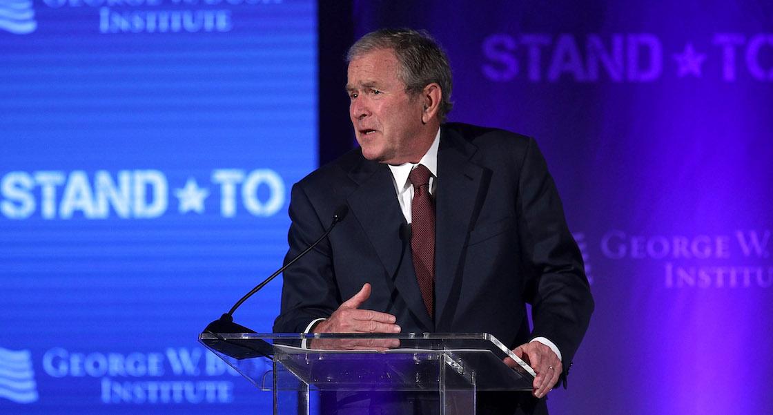 George W. Bush dice que Rusia sí se metió en las elecciones (y muchas cosas más)
