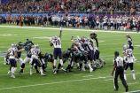 Con esta patada se pusieron adelante las Eagles / Getty Images