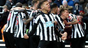 El Newcastle dio la sorpresa y se llevó la victoria ante el Manchester United