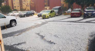 ¡¿Qué clase de diluvio es este?! Granizo azota varias delegaciones de la CDMX