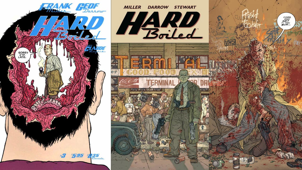 Hardboiled de Dark Horse Comics
