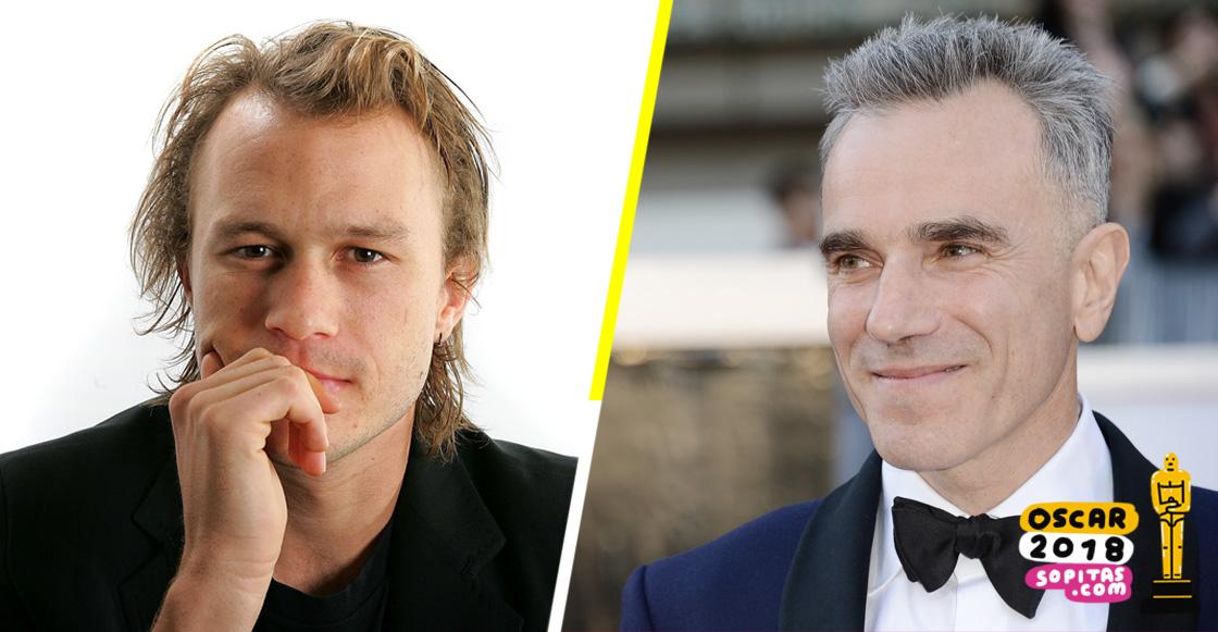 2008: Daniel Day-Lewis habló sobre la muerte de Heath Ledger y le dedicó su Oscar