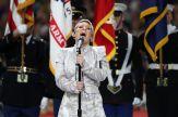 Pink se aventó unos bueno gallos en el himno / Getty Images