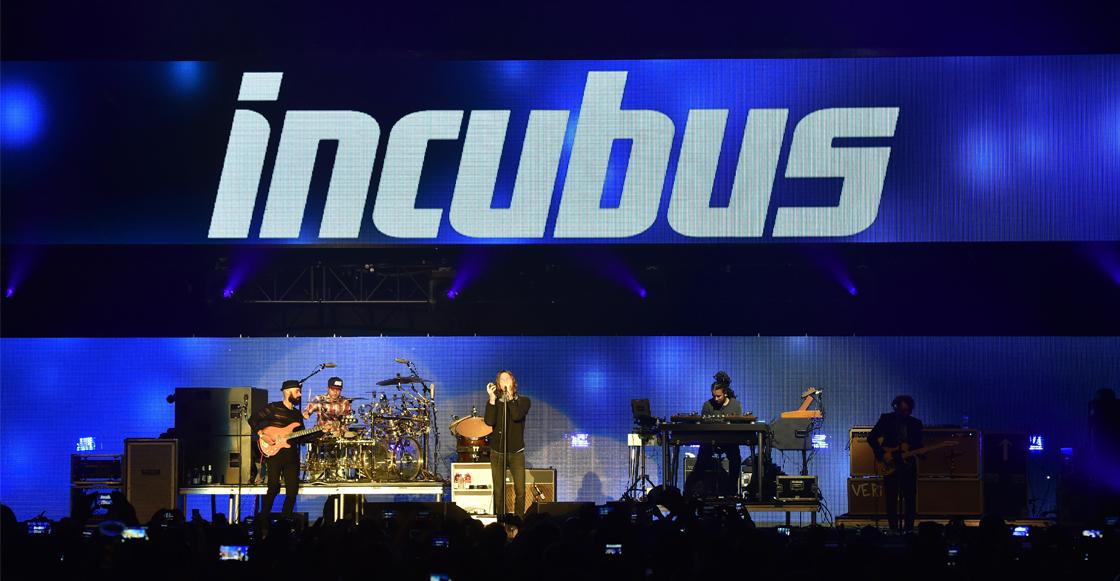 Concierto Incubus