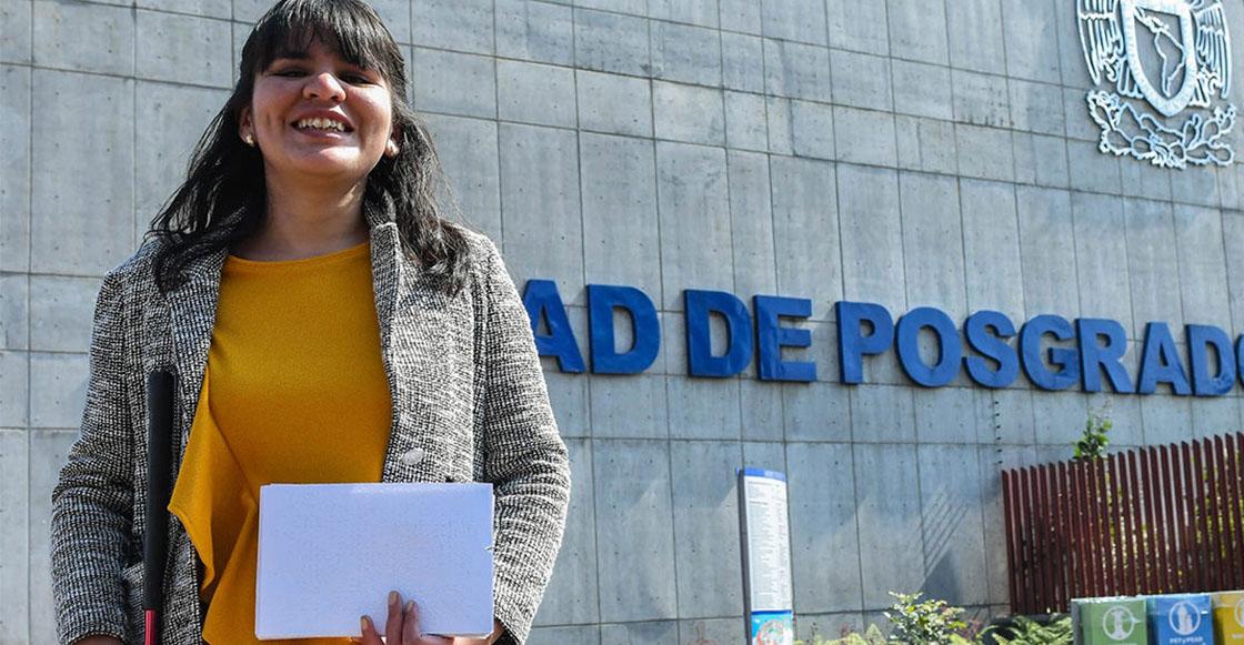 El cielo es el límite: Primera alumna invidente de la UNAM obtiene maestría en Música 👏