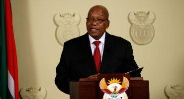 ¡Se acabó la novela! Renuncia el presidente de Sudáfrica
