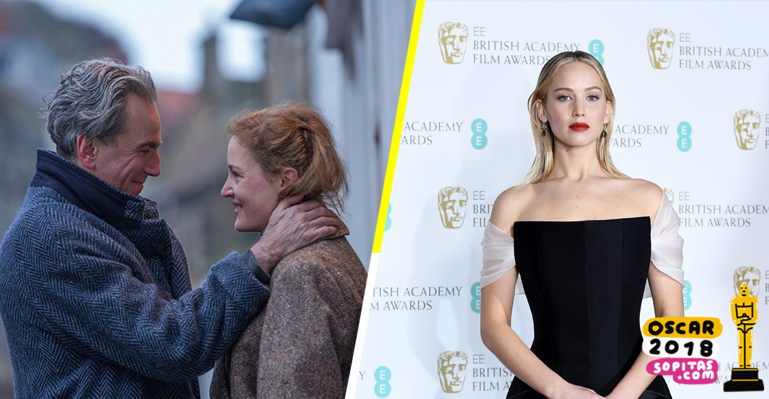 ¡Ni aguanta nada! Jennifer Lawrence no aguantó más de 3 minutos de 'Phantom Thread'