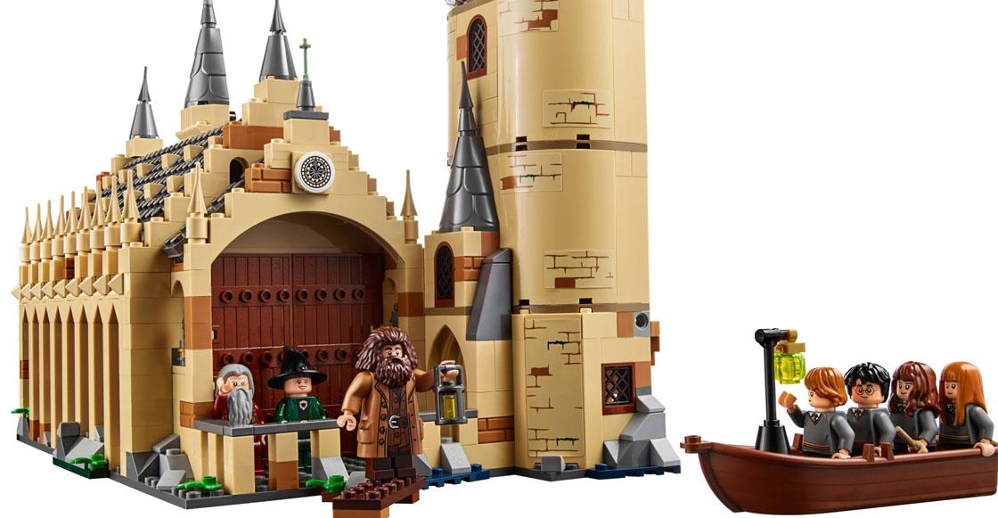 Accio Lego! Este es el set del Gran Comedor de Harry Potter en Lego
