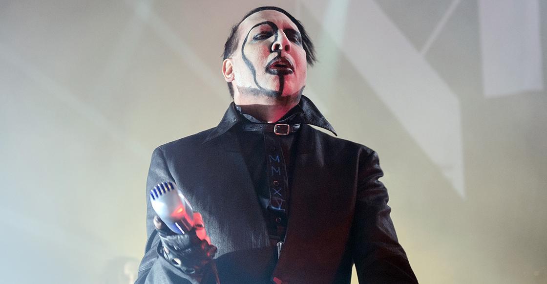 ¡¿QUÉSTÁPASANDOOOO?! Marilyn Manson termina concierto tras sufrir crisis sobre el escenario