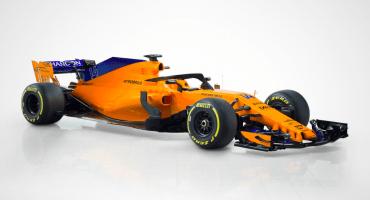 El nuevo monoplaza de McLaren para la temporada 2018 ya está aquí