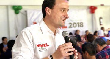 En la Ibero, Mikel Arriola asegura que no era director del IMSS cuando se firmaron contratos irregulares... sí lo era