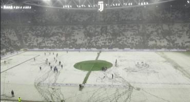 Se pospuso el Juventus vs Atalanta por una tremenda nevada ⛄️