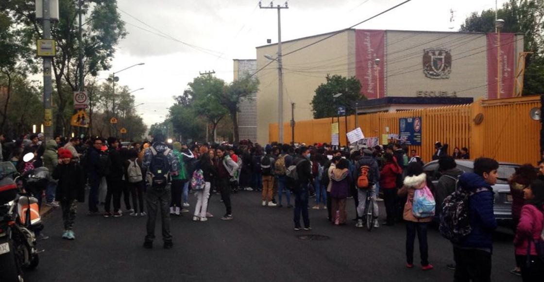 Prepas de la UNAM van a paro exigiendo justicia para Marco Antonio