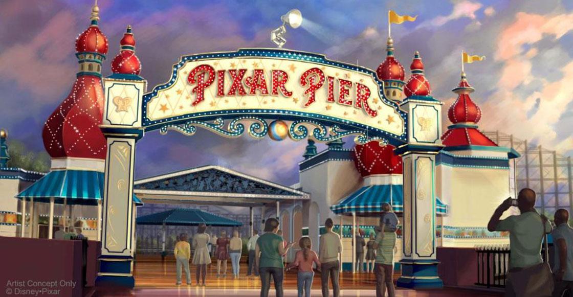 ¡Disney anuncia hotel de Star Wars y un parque de diversiones de Pixar!