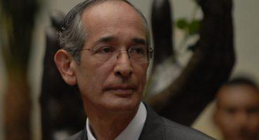 Por corrupción, arrestaron al expresidente de Guatemala
