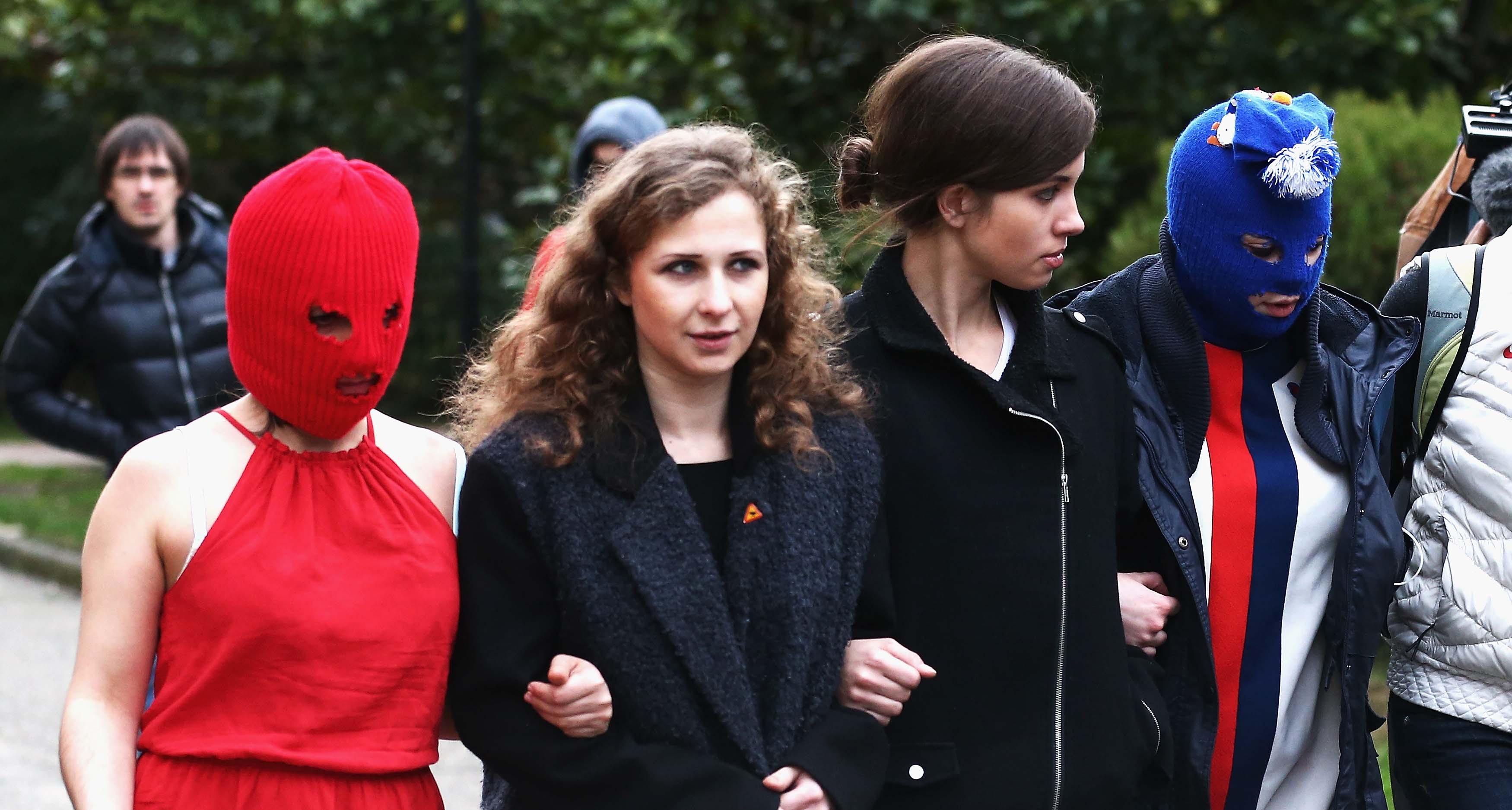 Aparecen los dos miembros de Pussy Riot que habían desaparecido tras arresto