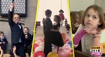 Aww! Estas niñas recrearon las 9 nominadas a Mejor Película de los premios Oscar