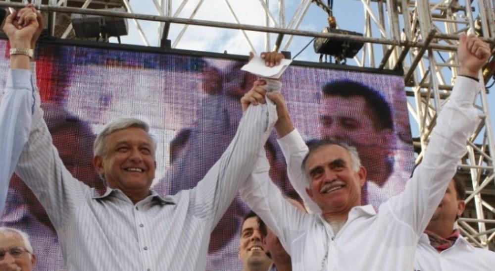 AMLO y Alfonso Romo