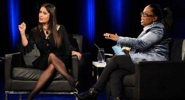 Salma Hayek explica a Oprah por qué no habló antes de Harvey Weinstein