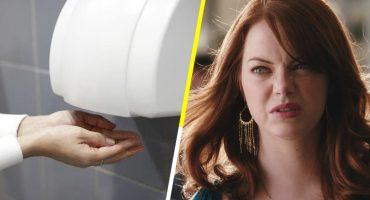 ¡¡¿¿KHAAA??!! Esta mujer acaba de mostrarnos el horror detrás de los secadores de manos