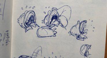 """Mira los bosquejos """"tras bambalinas"""" de Los Simpson de 1995"""