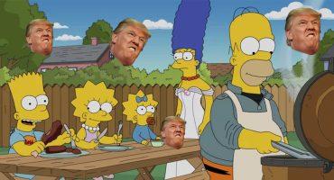 Mira nomás: El republicano Ted Cruz dice que 'Los Simpson' son republicanos