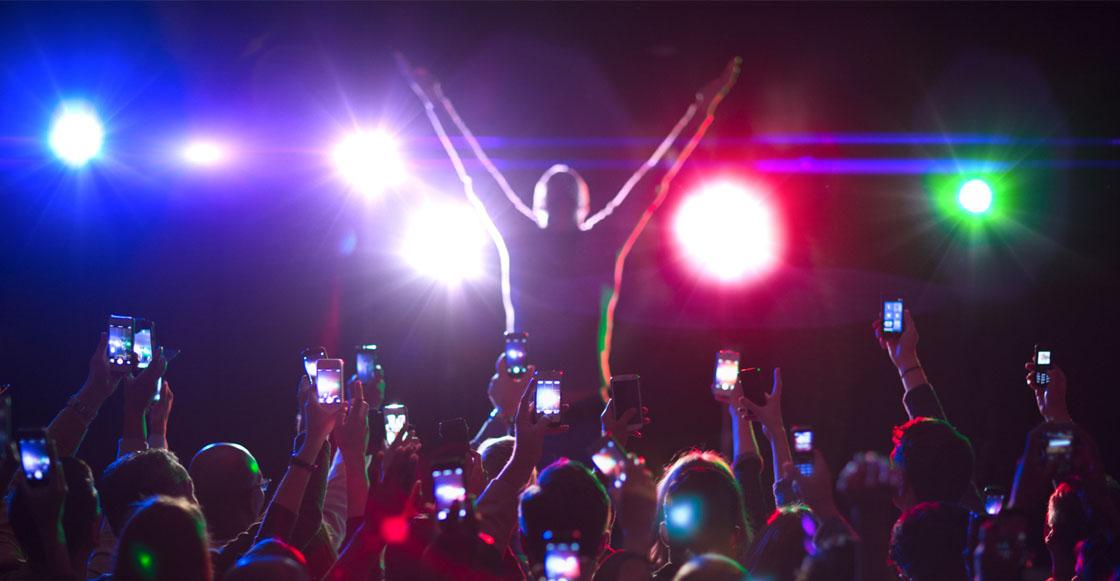 Este lugar en Australia quiere prohibir usar el celular para grabar conciertos