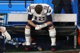 Brady ya estaba tristeando en la banca / Getty Images