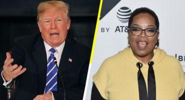 Donald Trump quiere que Oprah quiera ser presidente para vencerla… ah, ok