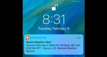Otro falsa alarma desata el pánico en Estados Unidos, ahora alerta de tsunami 臘♂️