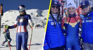 ¡Excelsior! Atletas de Estados Unidos usan uniformes inspirados en Marvel en los Juegos Olímpicos de Invierno