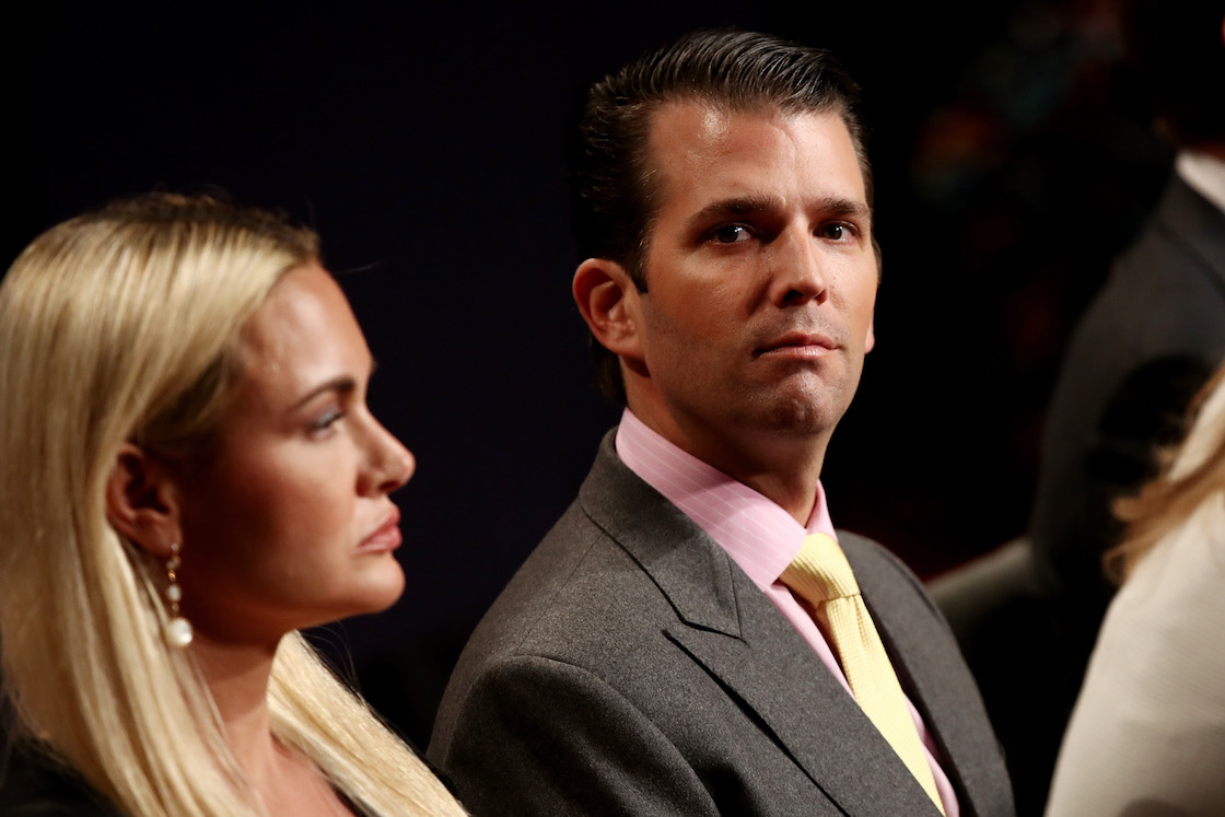 Donald Jr. y Vanessa Trump