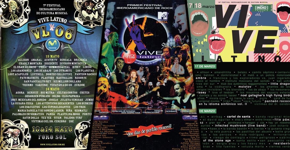 VOTA: ¿Cuál ha sido el mejor póster en la historia del Vive Latino?